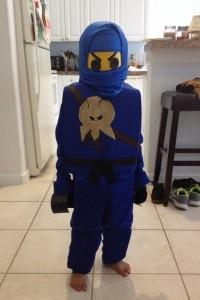 Jay Ninjago Costume