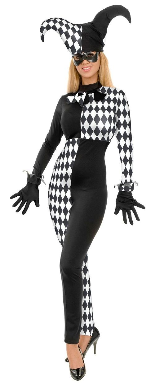 Jester Costume For Girl Kids