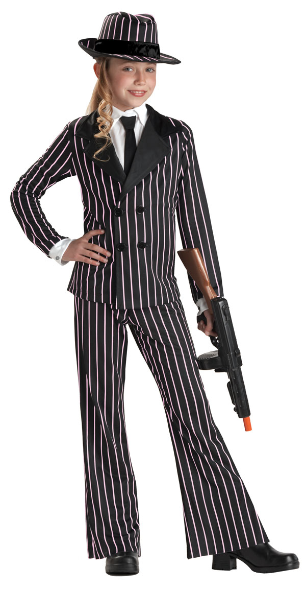 kids gangster costume - Halloween Mobster Costumes