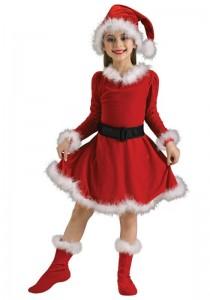 Kids Mrs Claus Costume