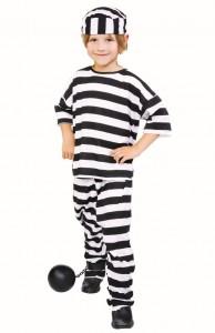 Kids Prisoner Costume