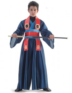 Kids Samurai Costume