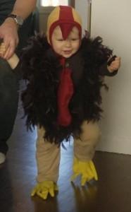 Kids Turkey Costume