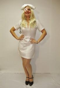 Kill Bill Nurse Costume