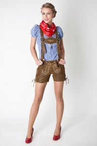 Lederhosen Costume Female