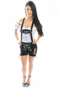 Lederhosen Costume Girl
