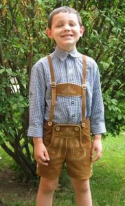 Lederhosen Costume Kids
