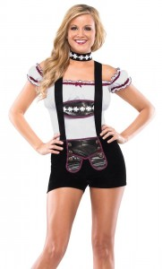Lederhosen Costume Women