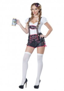 Lederhosen Costume for Women