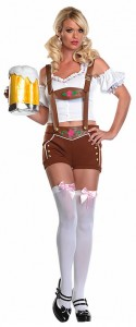 Lederhosen Girl Costume
