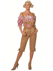 Lederhosen Womens Costume