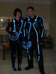 Light Up Tron Costume