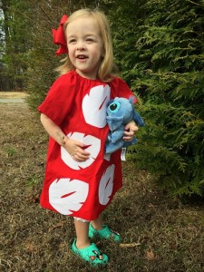 Lilo Costume DIY