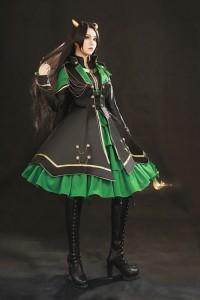 Loki Costume Girl