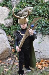 Loki Costume Kids
