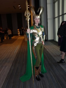 Loki Female Costume