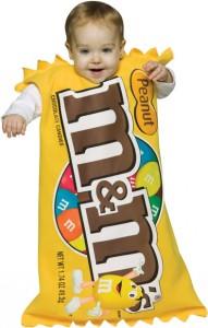 M&M Costume Baby