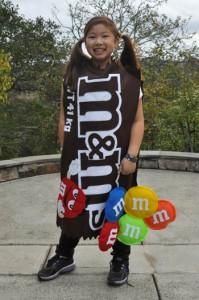M&M Costume Homemade