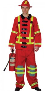 Male Firefighter Costume
