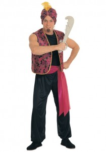 Male Fortune Teller Costume