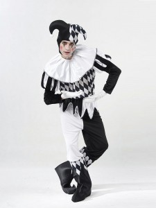 Male Harlequin Costume
