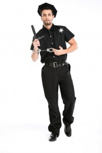 Male Police Officer Costume
