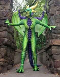 Maleficent Dragon Costume
