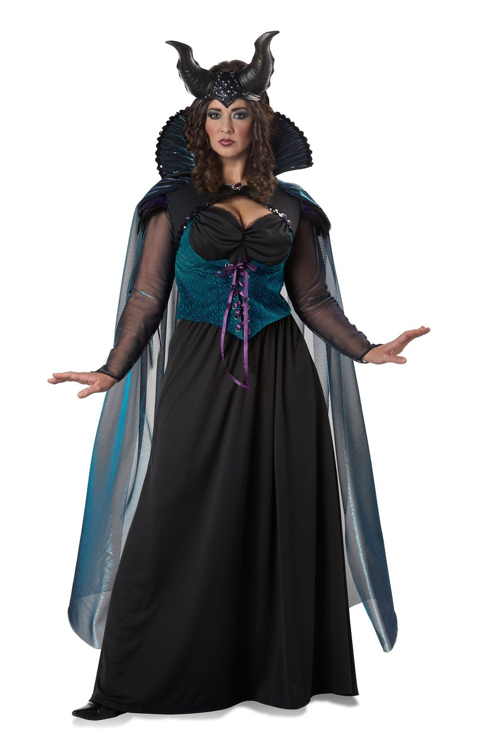 Flaunt your curves and your personal style in one of these Women's Plus Size Costumes from Candy Apple Costumes. Each of these costumes is specially-designed to fit plus size frames and flatter your shape, so whether you're looking for a Halloween costume, themed dinner party costume or an outfit for any other special occasion, we've got you covered.