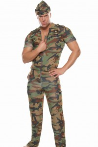 Mens Army Costume