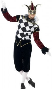 Mens Harlequin Costume