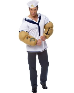 Mens Popeye Costume