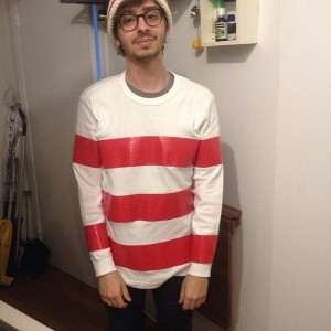 Mens Waldo Costume