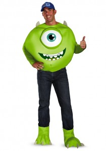 Mike Wazowski Adult Costume