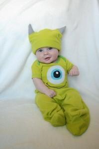 Mike Wazowski Costume Baby