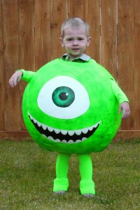 Mike Wazowski Costume DIY