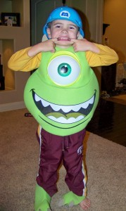 Mike Wazowski Costume Kids