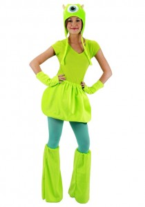 Monsters Inc Mike Wazowski Costume