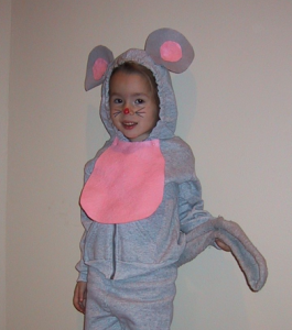 Mouse Costume DIY