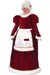 Mrs Claus Costume Plus Size