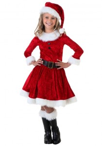 Mrs Claus Costumes for Girls