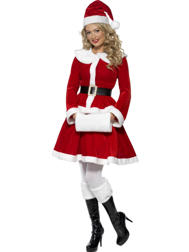 Clause latex mrs red santa