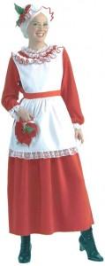 Mrs Claus Halloween Costumes