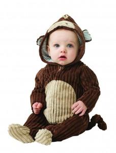 Newborn Sock Monkey Costume