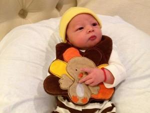 Newborn Turkey Costume