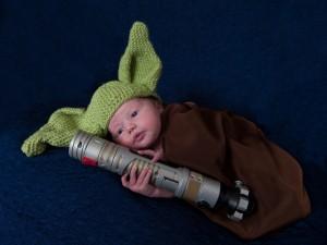 Newborn Yoda Costume