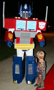 Optimus Prime Adult Costume