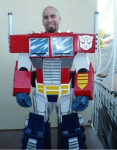 Optimus Prime Costume Adults