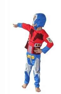Optimus Prime Costume Boy