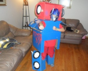 Optimus Prime Costume DIY