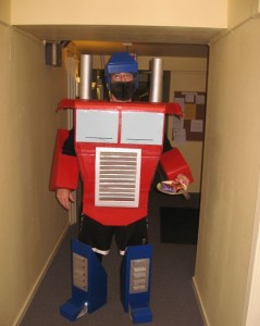 Optimus Prime Costume for Adults
